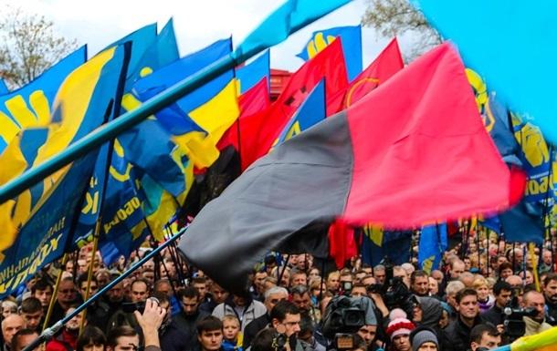 Над Львовом будут вывешивать флаг ОУН девять раз в году