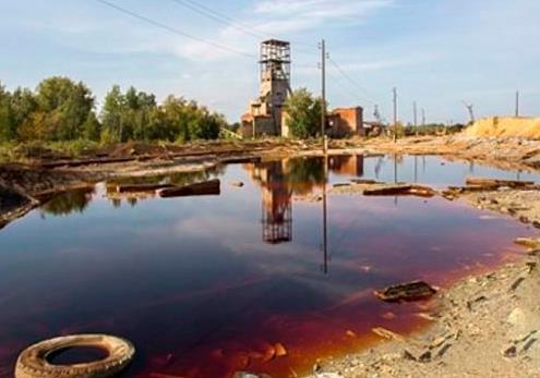 Радиоактивная угроза на востоке Украины