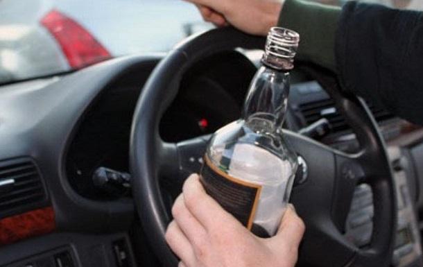 В Украине выросло количество пьяных ДТП