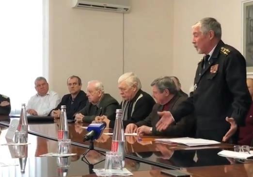 В Херсоне пенсионеры силовых структур требовали повышения пенсий