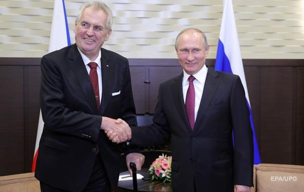 Небезпечна Чехія.  Агент Путіна  пішов на другий термін