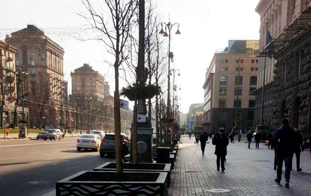 У центрі Києва висадили 10 експериментальних дерев