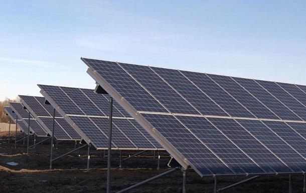 Под Запорожьем построили солнечную электростанцию