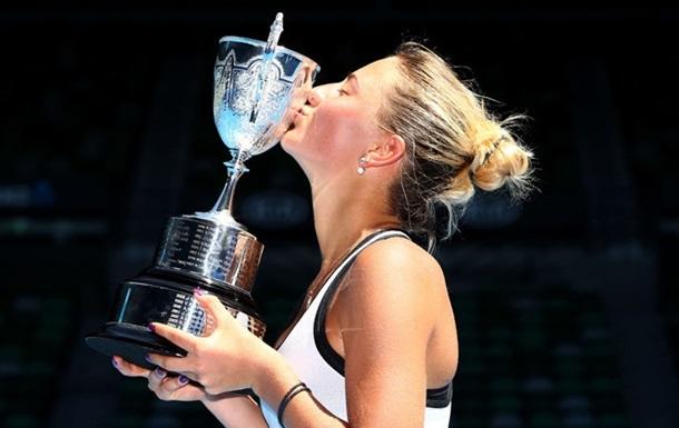 Порошенко привітав тенісистку Костюк з перемогою в Австралії