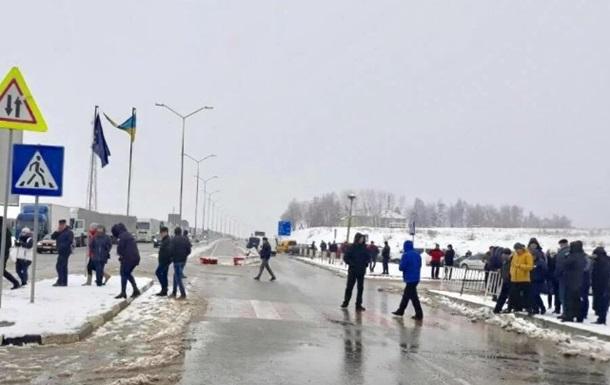 Протестующие разблокировали границу с Польшей