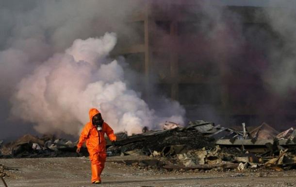 На химзаводе в Китае произошел взрыв