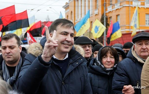 Саакашвили обещает представить свое правительство и кандидатов в президенты