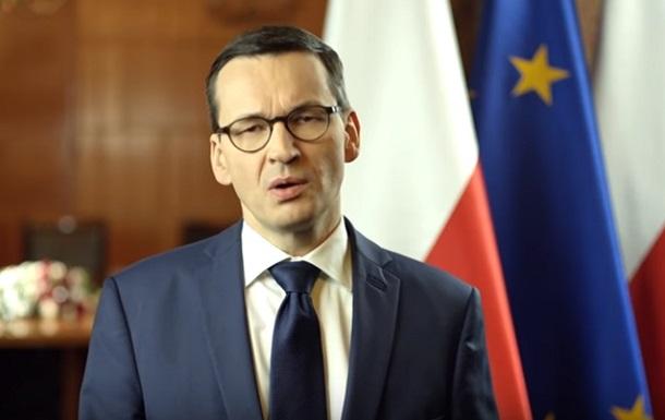 Премьер Польши объяснил  бандеровский закон