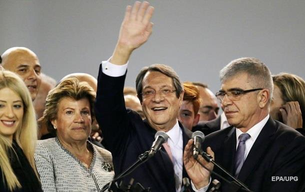 На виборах на Кіпрі переміг чинний президент