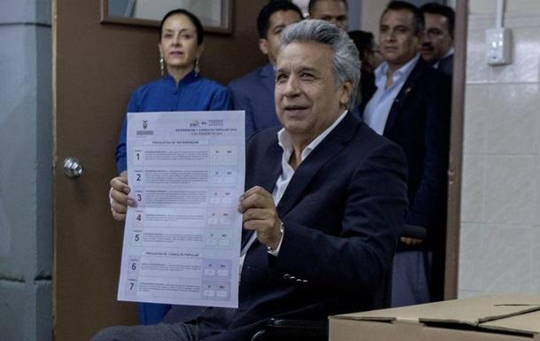 Референдум в Еквадорі заборонив президенту більше двох термінів