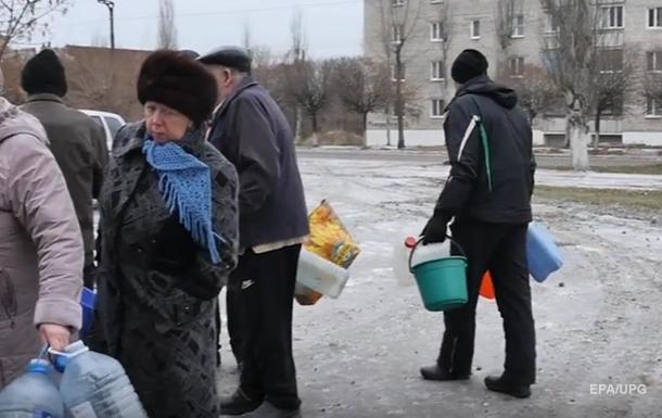 Устаткування з постачання води на Донбас у критичному стані - штаб
