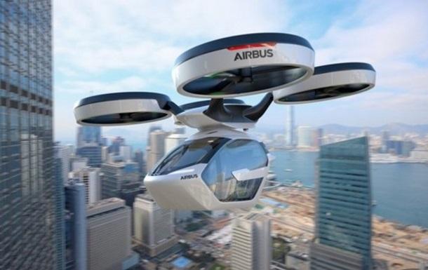 Летающее такси Airbus совершило первый полет