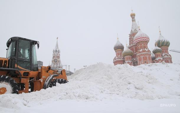 У Москві рекордний снігопад