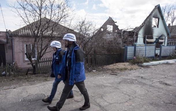 ОБСЄ за вихідні нарахувала 643 вибухи на Донбасі