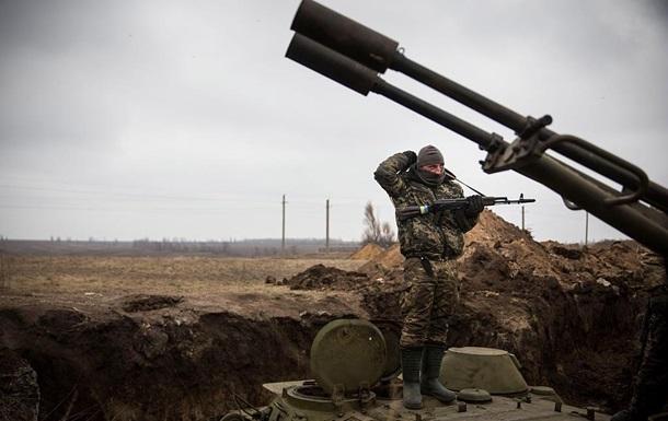 Штаб: Сепаратисты обстреляли украинские позиции из минометов
