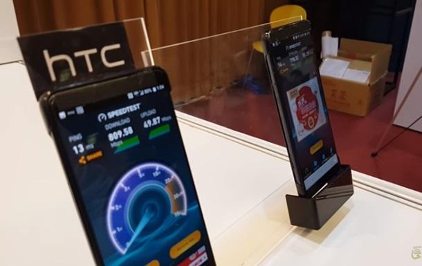 Флагман HTC U12 впервые показали на видео