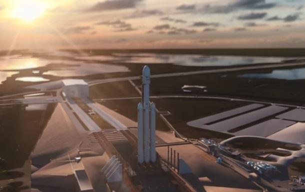 SpaceX попытается посадить все три ускорителя ракеты Falcon Heavy