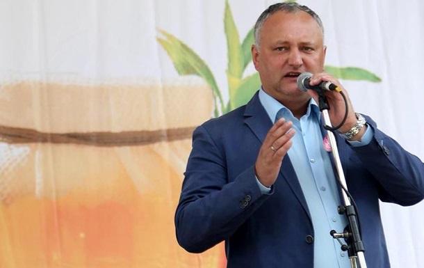 Додон: Україна допоможе вирішити питання Придністров я