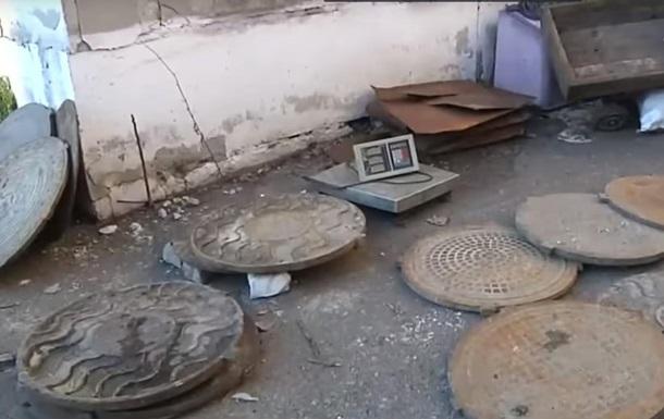 В Днепре поймали банду похитителей канализационных люков
