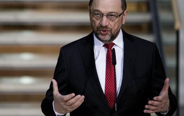 МЗС Німеччини очолить Мартін Шульц - ЗМІ