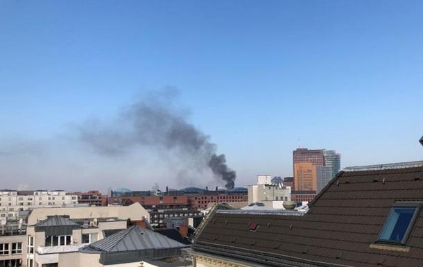 В центре Берлина горел пятизвездочный отель