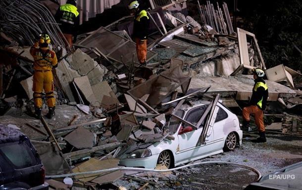 Кількість жертв землетрусів на Тайвані зросла до 10