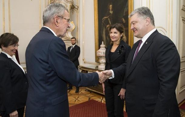 Президент Австрии в марте посетит Украину