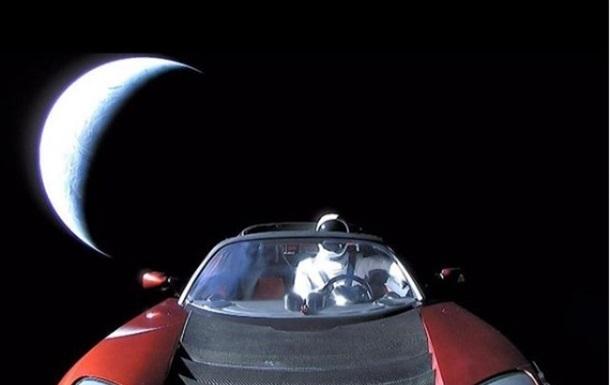 Запущену в космос машину Tesla визнали супутником