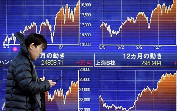 Токійська фондова біржа на відкритті впала на 3%