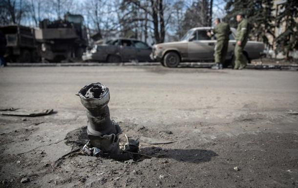 Штаб: из-за минометного обстрела ранен один украинский военный