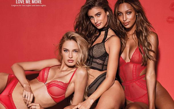 Victoria s Secret создали линейку белья ко Дню Валентина
