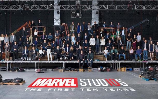 Marvel собрал на фото всех звезд своих фильмов