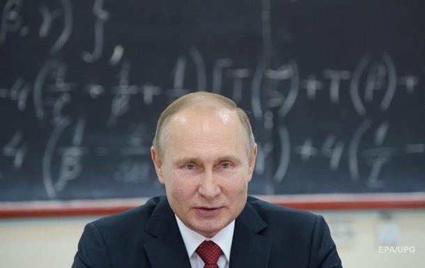 Путін упевнений, що Заходу набридли санкції
