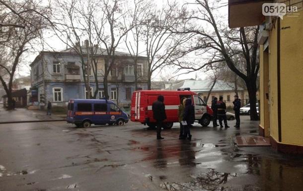 У центрі Миколаєва горів будинок