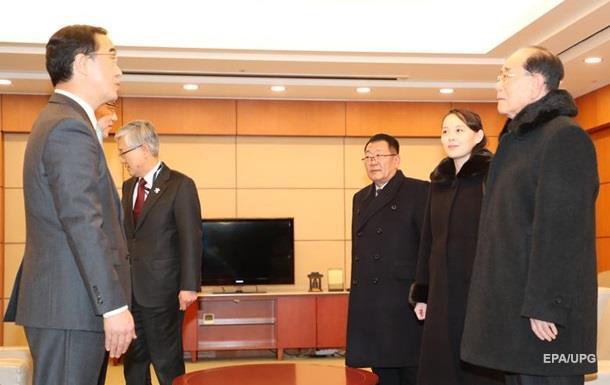 Сестра Ким Чен Ына встретилась с президентом Южной Кореи