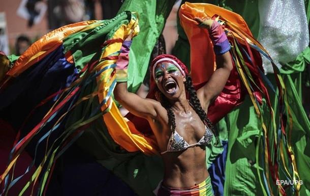 В Рио-де-Жанейро начался карнавал