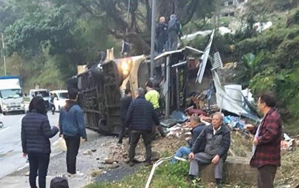 При ДТП с автобусом в Гонконге погибли 19 человек