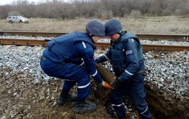 На железной дороге под Одессой нашли боеприпасы
