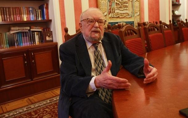 Умер украинский академик Мирослав Попович