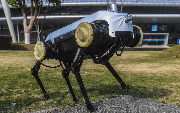 Китайские ученые показали четырехногого робота