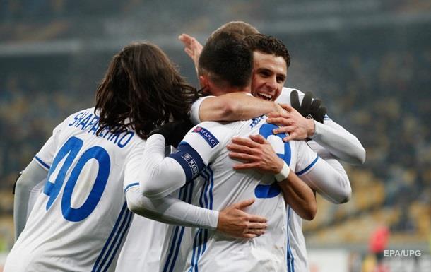 АЕК - Динамо Киев 1:1. Онлайн матча Лиги Европы