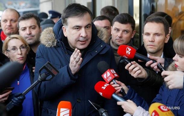 Саакашвили задержали по запросу Миграционной службы – СМИ