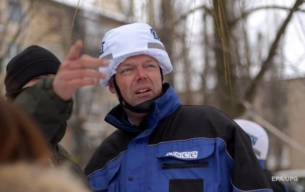 Замглавы миссии ОБСЕ неделю проведет на Донбассе