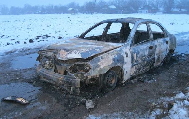 Под Винницей мужчина сгорел в авто из-за сигареты