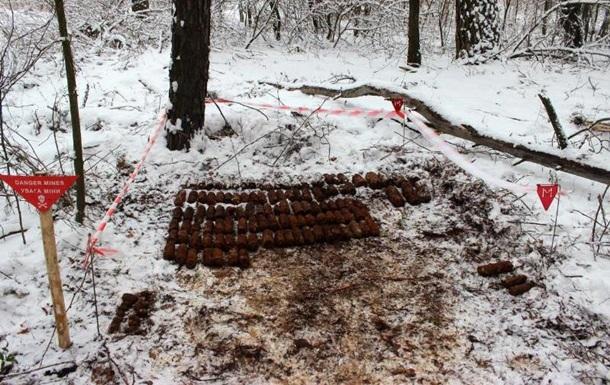 В Киевской области нашли 433 боеприпаса