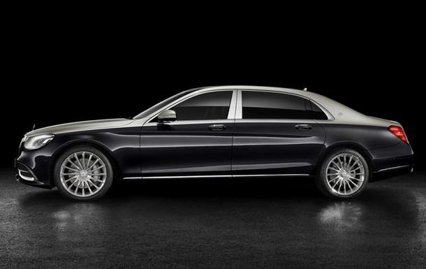 Рассекречена внешность нового Maybach S-Class