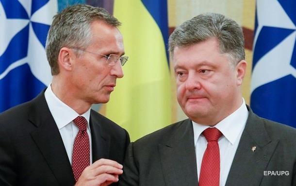 Генсек НАТО проведе зустріч з Порошенком