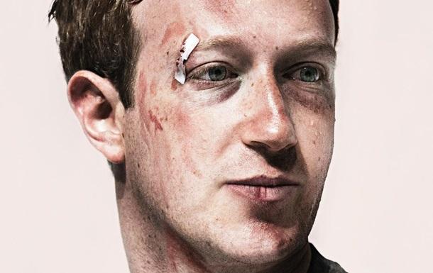 Избитый Цукерберг украсил обложку журнала