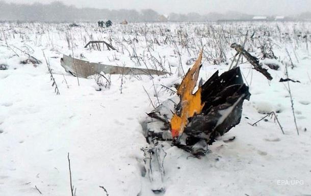 У Підмосков ї знайшли двигуни впалого Ан-148