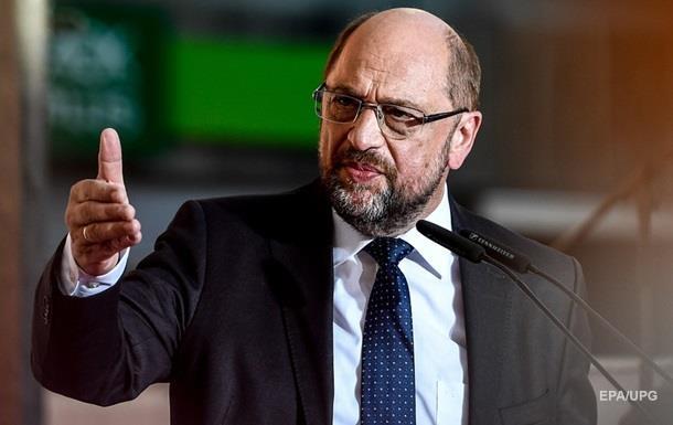 Лідер соціал-демократів Німеччини Шульц пішов у відставку